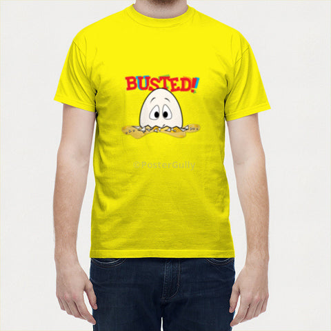 Men T Shirts, Busted Men T-shirt | Eggoticons, - PosterGully - 1