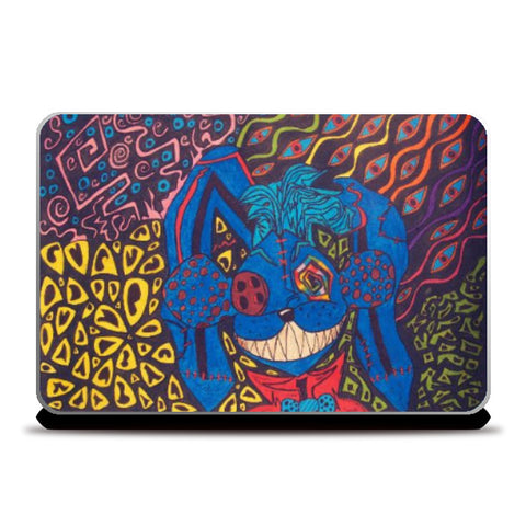 Laptop Skins, Shubbi The Moubbit | Spiritual Psycho Laptop Skin | Artist: Sourabh Halder, - PosterGully