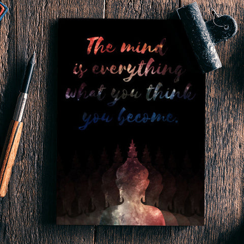 Buddha Quote - Motivational!! Notebook | Artist : Dolly P