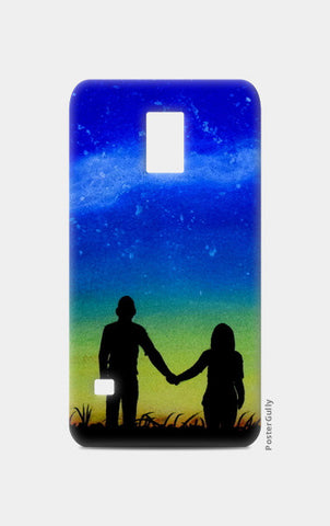 Sunset Love Painting Samsung S5 Cases | Artist : Rahul Tanwar