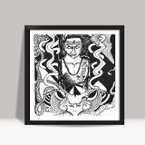 shiva art Square Art Prints | Artist : akash biyani