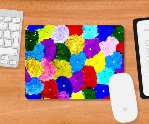 Mousepad, Abstract colors Mousepad | Artist : Ajooni Singh, - PosterGully