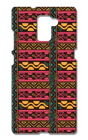 Abstract geometric pattern african style Huawei Honor 7 Cases | Artist : Designerchennai