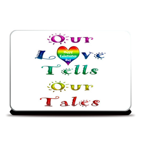 Laptop Skins, Rainbow Love Tales Laptop Skins | Artist : Natraj Vemuri, - PosterGully