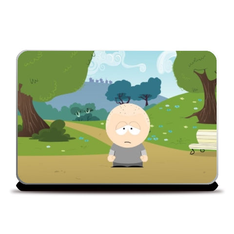 Laptop Skins, sad man Laptop Skin |  | Anshuraj Tyagi, - PosterGully