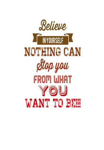 PosterGully Specials, Believe | Quote | Typography | Wall Art | Artist : Nandini Rawat, - PosterGully
