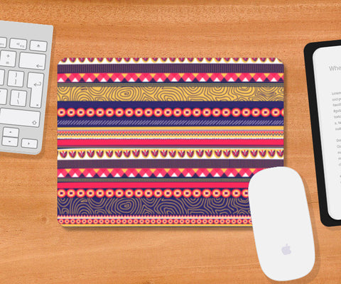 Mousepad, Go Tribal Mousepad | Artist : Tanvi C, - PosterGully