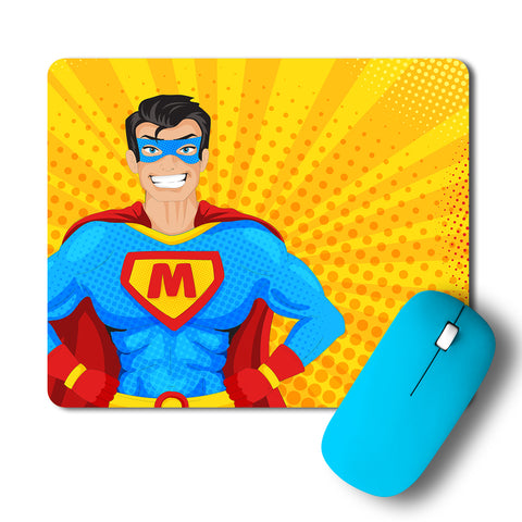 Superhero Popart Artwork Mousepad