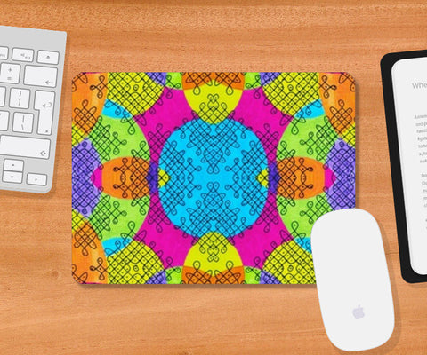 Indian Twisties Mousepad | Artist : the unskilled artist