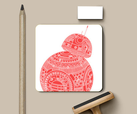 BB8 STAR WARS Coasters | Artist : GRAFIIKKA