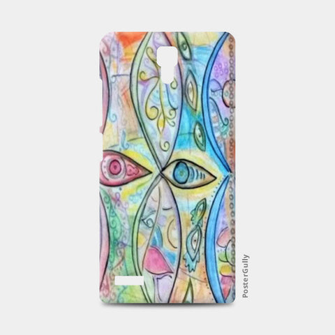 Redmi Note Cases, Third Eye Redmi Note Cases | Artist : Himani Chhabra, - PosterGully
