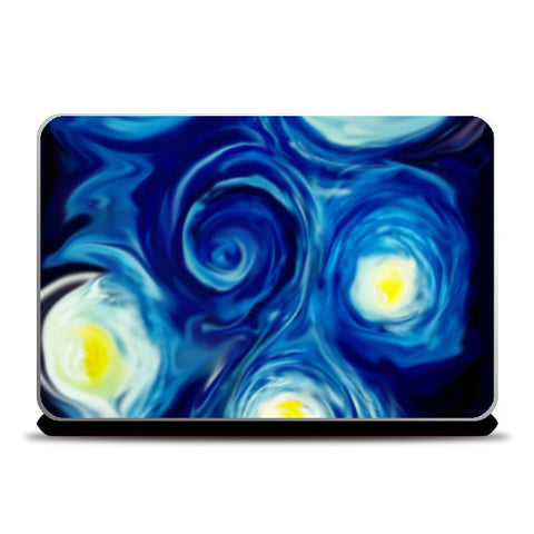 Nightwhirl Laptop Skins | Artist : Sanjay Ghosh