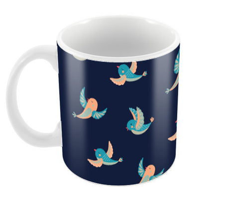 Birds Coffee Mugs | Artist : Amantrika Saraogi