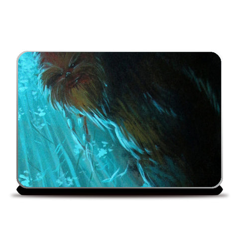 Laptop Skins, Who's Afraid of The Wookie - Painting Laptop Skins | Artist : Smeet Gusani, - PosterGully