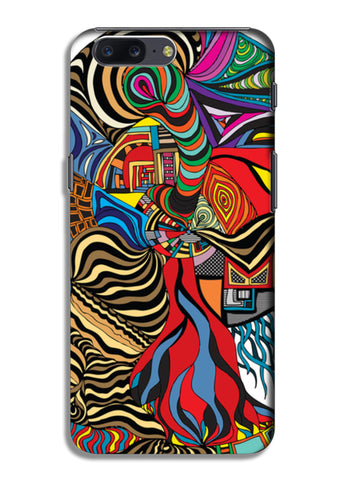 Psychedelic mania! OnePlus 5 Cases | Artist : Jessica Maria
