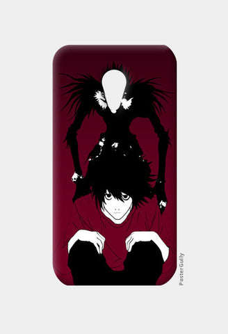 "death note ""L"" Moto G2 Cases 