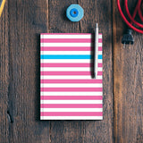 Happy Stripes 2 Notebook | Artist : Vaishak Seraphim