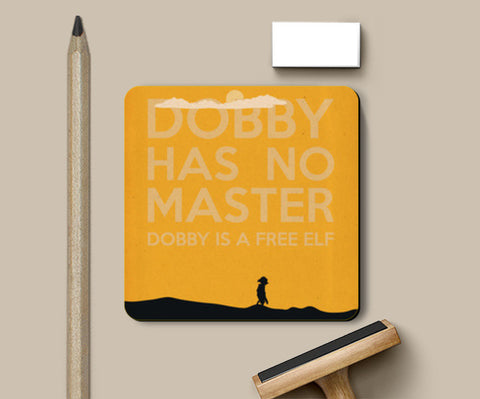 Coasters, Dobby is a Free Elf Coaster | Rishabh Bhargava, - PosterGully