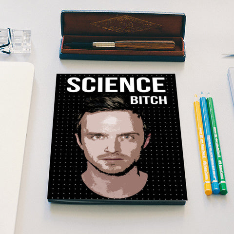 Breaking Bad | Jesse Pinkman Notebook | Artist : Gub Gub