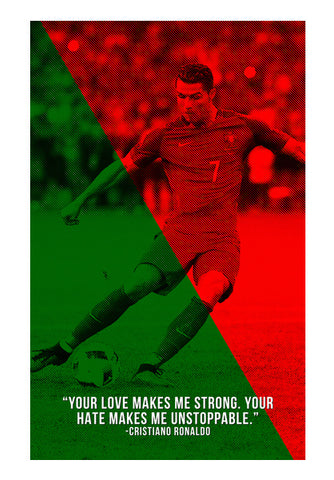 Cristiano Ronaldo Artwork | #Footballfan Wall Art | Artist : Creative DJ