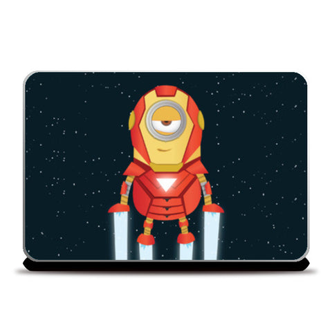 Laptop Skins, Minion Ironman Laptop Skins | Artist : Ronak Mantri, - PosterGully