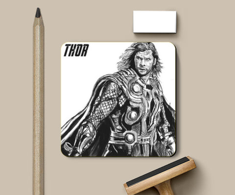 Coasters, Son of Odin: Thor Coasters | Artist : Draw On Demand, - PosterGully