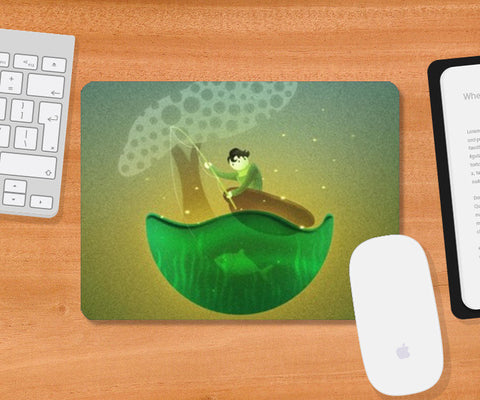 World of Loy Mousepad | Artist : Aniket Mitra