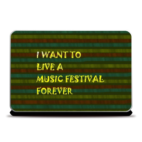 Music is life Laptop Skins | Artist : Pallavi Rawal