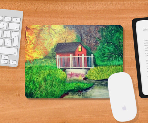 Into the Nature Painting Mousepad | Artist : Pallavi Rawal
