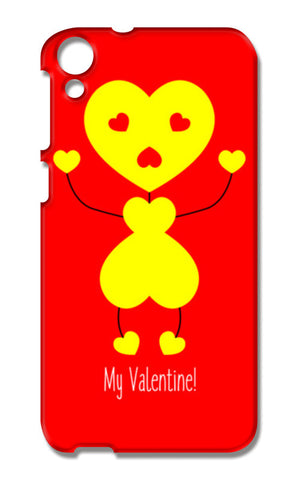 Bee My Valentine HTC Desire 820 Cases | Artist : Designerchennai