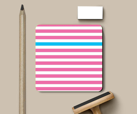 Happy Stripes 2 Coasters | Artist : Vaishak Seraphim