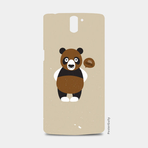 Mr.Panda One Plus One Cases | Artist : Designerchennai