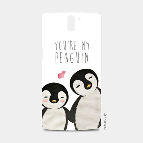 You're My Penguin | Artist: Aparna Singh One Plus One Cases | Artist : Aparna Singh