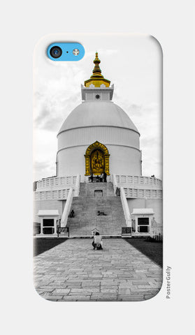 iPhone 5c Cases, World Peace Pagoda iPhone 5c Cases | Artist : Adama Toure, - PosterGully