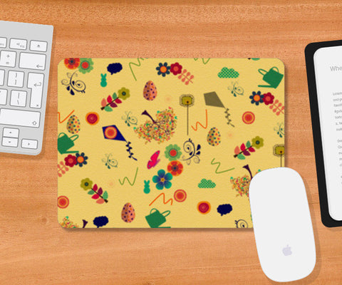 Spring is Here Mousepad | Artist : PUJA KUMAR