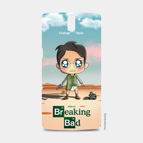 One Plus One Cases, Breaking Bad Cartoon One Plus One Cases | Artist : Toshib Bagde, - PosterGully
