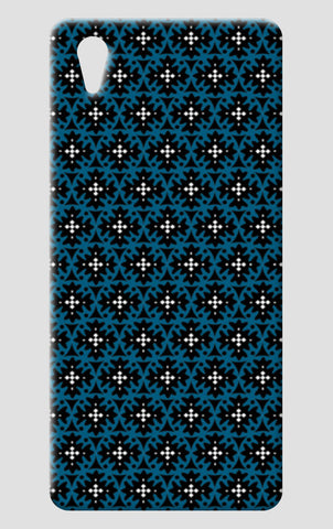 Tribal Blue Black Geometric Pattern  One Plus X Cases | Artist : Seema Hooda