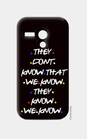 FRIENDS Moto G Cases | Artist : Manju Nk