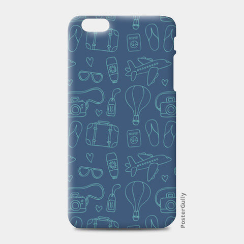 Sketchy Travel iPhone 6 Plus/6S Plus Cases | Artist : Colour me expressive