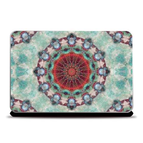 Laptop Skins, red kaleidoscope Laptop Skin | Artist: harshad parab, - PosterGully