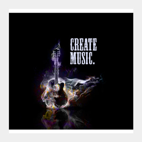 Square Art Prints, Create Music Square Art | BoysTheory, - PosterGully