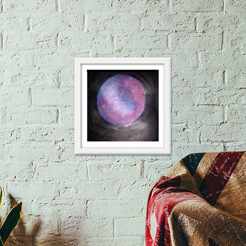 The way to the universe @srijana's Premium Square Italian Wooden Frames | Artist : srijana giri