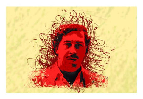 PosterGully Specials, Pablo Escobar Wall Art  | Artist : desiGuy, - PosterGully
