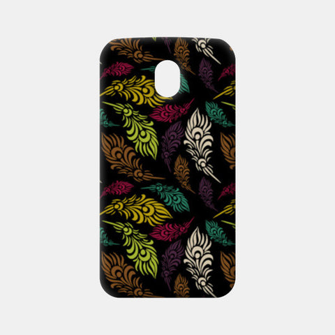 Seamless hand drawn vector leaves  Moto G3 Cases | Artist : Designerchennai