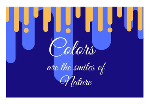 Colors are the smiles of nature Wall Art  | Artist : Pallavi Rawal