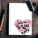 Smile From Ear To Ear Notebook | Artist : Anniez Artwork