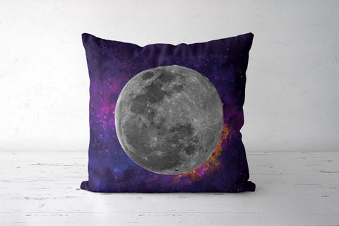 Purple Moon Cushion Covers | Artist : Suraaj Ajithakumar