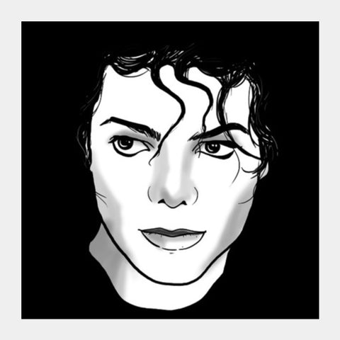 Square Art Prints, Michael jackson Square Art Prints | Artist : Tejeshwar Prasad, - PosterGully