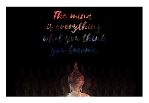 Buddha Quote - Motivational !! Wall Art  | Artist : Dolly P