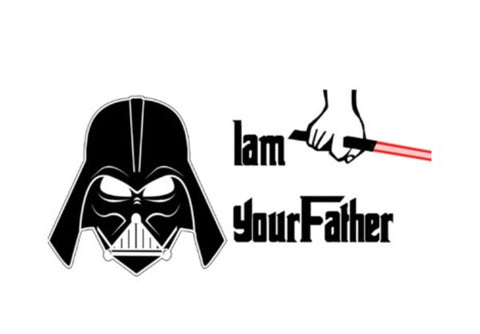 Wall Art, Darth Vader - I am your father. Star Wars Wall Art  | Artist : Nupur Joshi, - PosterGully